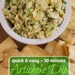 Artichoke Dip Recipe Pinterest PIN