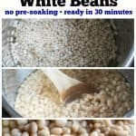 Instant Pot White bean recipe PIN