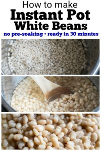 Instant Pot White bean recipe PIN