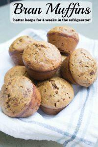 Bran Muffin Recipe PIN